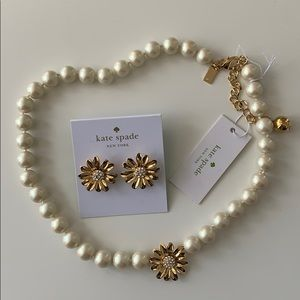 Kate Spade Necklace and Earring Set